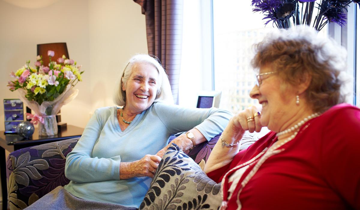 Residential care for the elderly